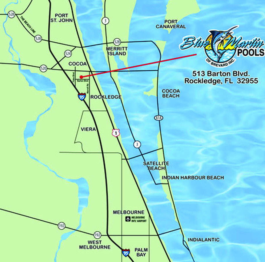 Blue Marlin Pools, Contact Us